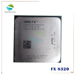 Image 1 - Amd fx シリーズ FX 8320 FX8320 fx 8320 3.5 ghz 8 コア cpu プロセッサ FD8320FRW8KHK ソケット AM3 +