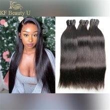 A categoria reta brasileira 10a da extensão do cabelo humano 6-46 polegadas no estoque do cabelo do virgin pode ser tingida costurar no tecer do cabelo para a mulher