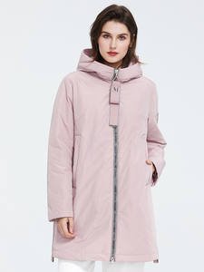 Astrid Women Jacket Spring Plus-Size Outerwear Zipper Fashion High-Quality with AM-8608