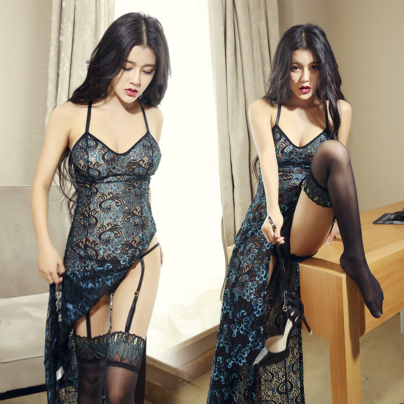 Lace Peacock Feather Skirt Erotic Dress <font><b>Sexy</b></font> Underwear Women <font><b>Lingerie</b></font> Tenue Sex <font><b>Femme</b></font> <font><b>Erotique</b></font> Fntazi Giyim Seksi Lenceria Mujer image