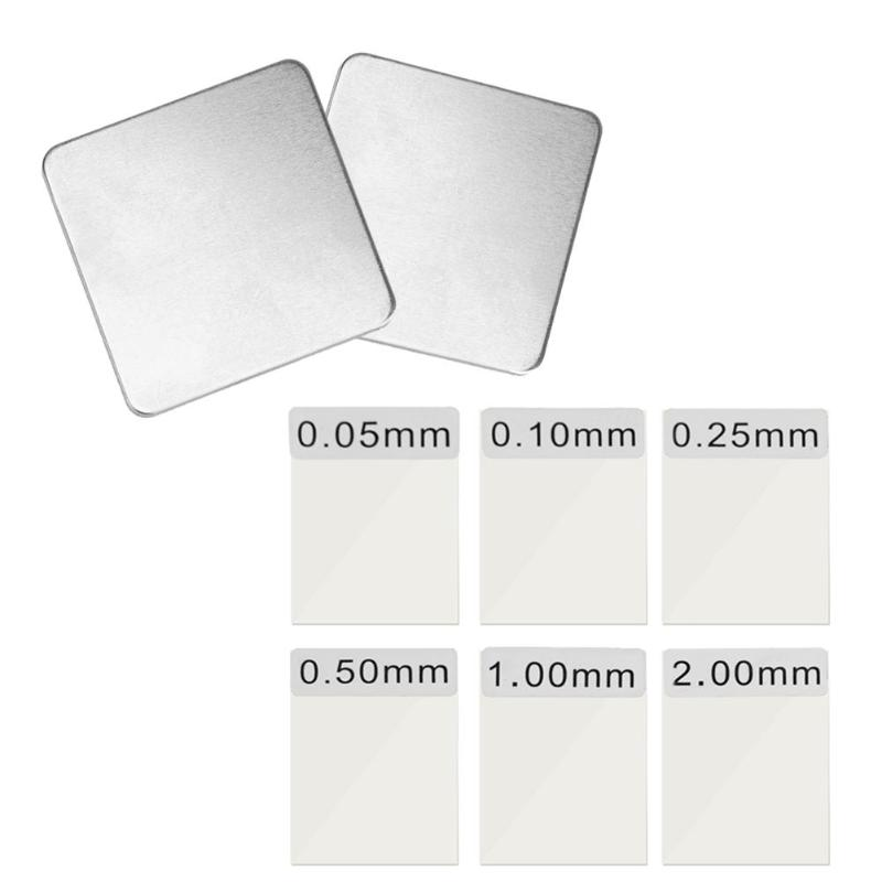 6pcs Coating Thickness Films Calibration For Coating Thickness Gauge GM200