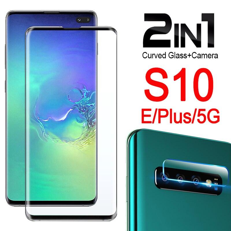 Защитное стекло для Samsung Galaxy S10 plus S10e, Защитная пленка для экрана S 10, s10plus, 10 S, 10e, 10es, sam, 3D изогнутый лист из закаленного стекла