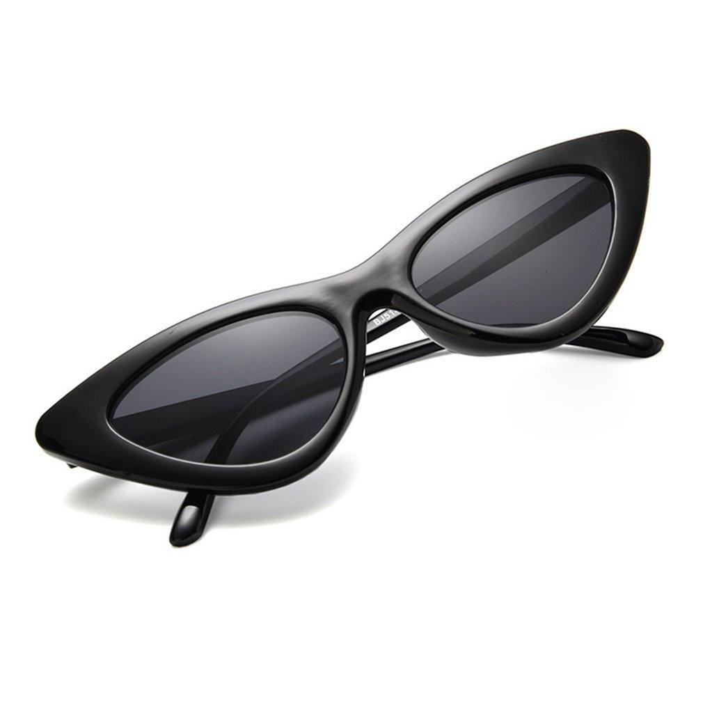 Rétro mode yeux lunettes De soleil Vintage chat lunettes De soleil femmes triangulaire lunettes De soleil lunettes Oculos De Sol UV400