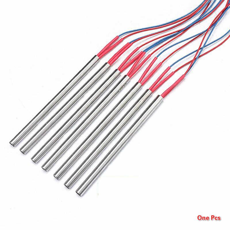 (2 pièces) 220V 100-600W fil chauffant pour imprimante 3D simple tête Tube de chauffage électrique Hot Rod allumeur moule chauffage