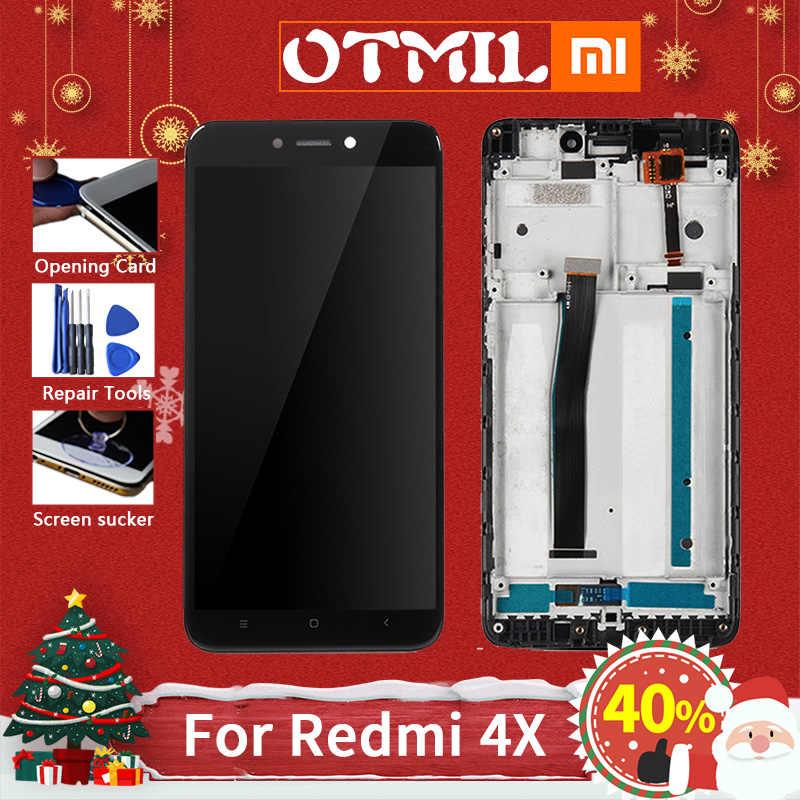 """Otmil 5.0 """"original para xiaomi redmi 4x display lcd tela de toque comquadro digitador para xiaomi redmi 4x display lcd pro #1"""