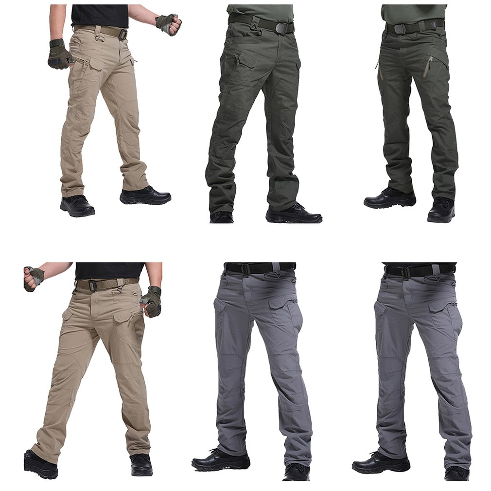 IX7 IX9 City Tactical Cargo Pants Special Forces Wear Multi-pocket Tactical Pants Army Fan Overalls Men Casual Trousers