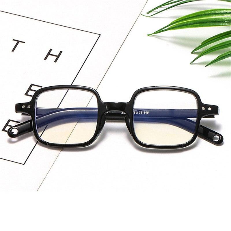 Computer Glasses Frames Anti Blue Ray Radiation Men Women Square Eye PC Glasses Frames Unisex Optical Print Glasses PC,Blue