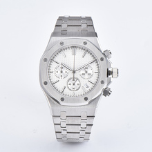 41mm Men Watch Japan VK Quartz Movement Chronograph