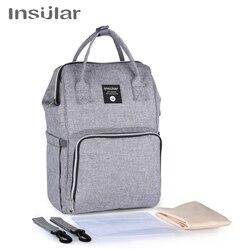 Рюкзак для мамы, сумка для подгузников, сумка для детской коляски, водонепроницаемая сумка Оксфорд, сумка для пеленки для ухода, наборы, сумк...