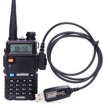 Programming-Cable Walkie-Talkie Radio Cd-Software USB K-Port UV-5R Bf-888s 2-Way Baofeng