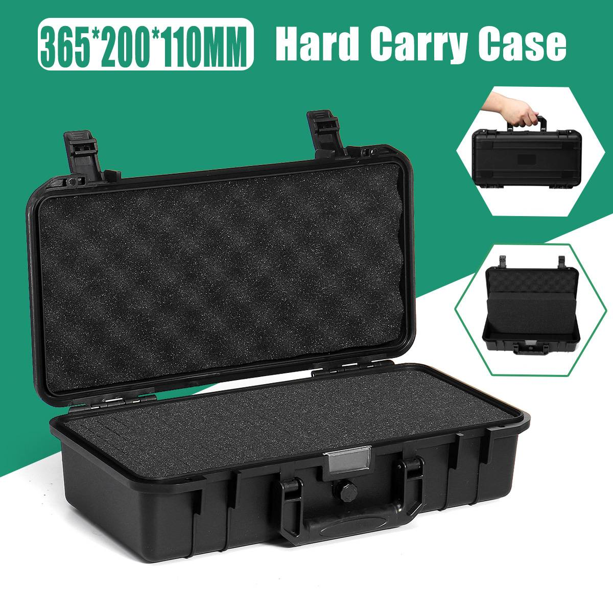 Protective Safety Instrument Tool Box Waterproof Shockproof Toolbox Sealed Tool Case Impact Resistant Suitcase With Sponge