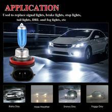 2шт H11 фар лампы 12V 55W ксеноновые Белый 5000K галогеновая лампа автомобиля фары лампа Глобус лампы ксеноновые фары автомобиля