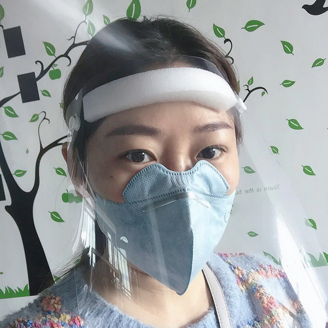Transparent Protective Mask Dust-proof Oil-Splash Proof Full Face Mask Protect Shield Safety Mask 4