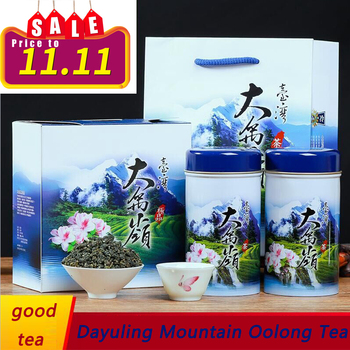 oolong tea 300g Taiwanese Super Fragrance Oolong High-cold Tea Gift Box in Dayuling Mountain