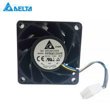 Free Shipping Delta 6038 PFR0612XHE/FFR0612DHE DC 12V 3.30A ultra violent strong air flow high speed axial fan(China)