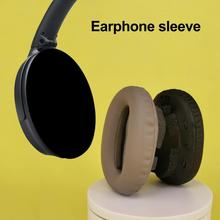 2PCS Universal Headset Earpads Ear Pads Protein Skin Earbuds Soft Cushion Replacement for Sony MDR 1000X WH 1000XM3 XM2