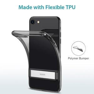 Image 5 - Cassa Del Telefono per il iPhone SE 2020 8 7 ESR Più 11 Pro X XR XS Max Cavalletto Verticale Del Supporto Del Basamento copertura posteriore per il iPhone SE 2020 Caso