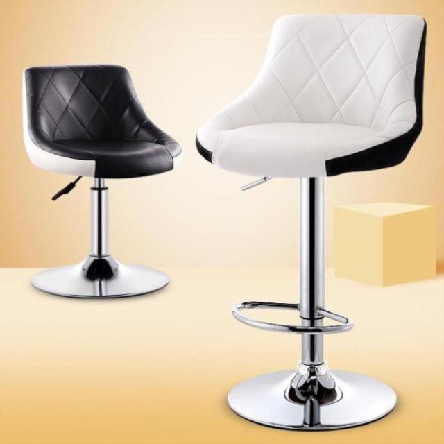 Backrest Chair Lift Bar Chair Modern Minimalist Bar High Stool Home Bar Stool Bar Chair High Chair