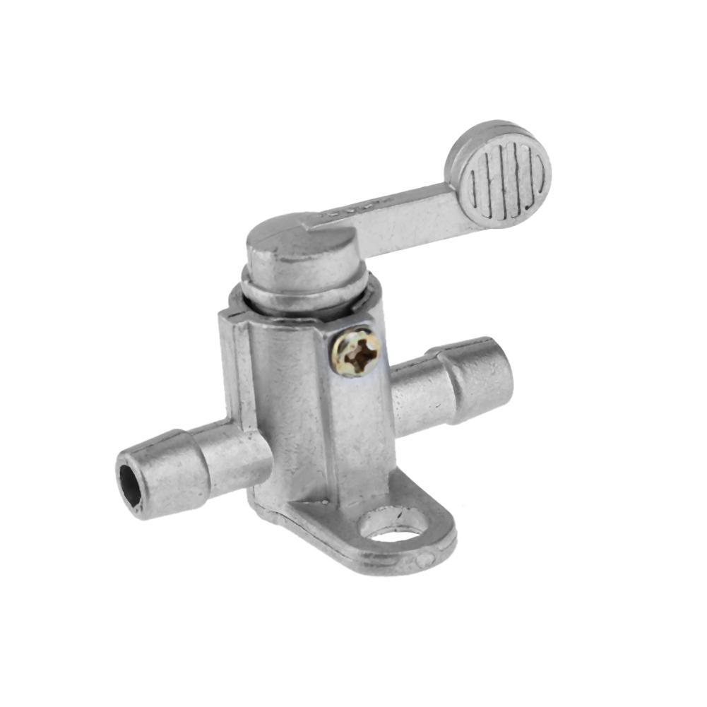 Motorcycle Inline Fuel Tank Tap On/Off Petcock Switch for ATV Dirt Bike