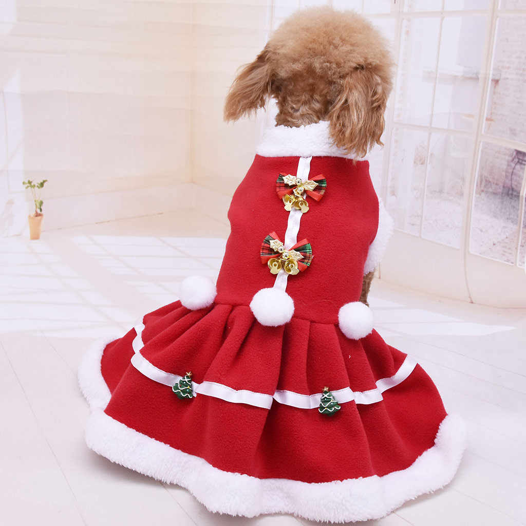 ใหม่ร้อนคริสต์มาสสัตว์เลี้ยงสุนัขใหม่มาถึงสีทึบเสื้อกันหนาวเสื้อกั๊กสัตว์เลี้ยง Cat Puggy Coat FAST การจัดส่ง