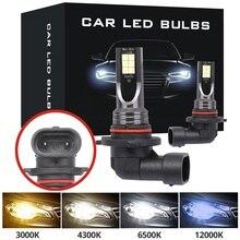 Driving-Lamp Led-Bulbs Signal-Turn-Light HB4 Car Fog Amber Auto White Blue H11 H7 HB3