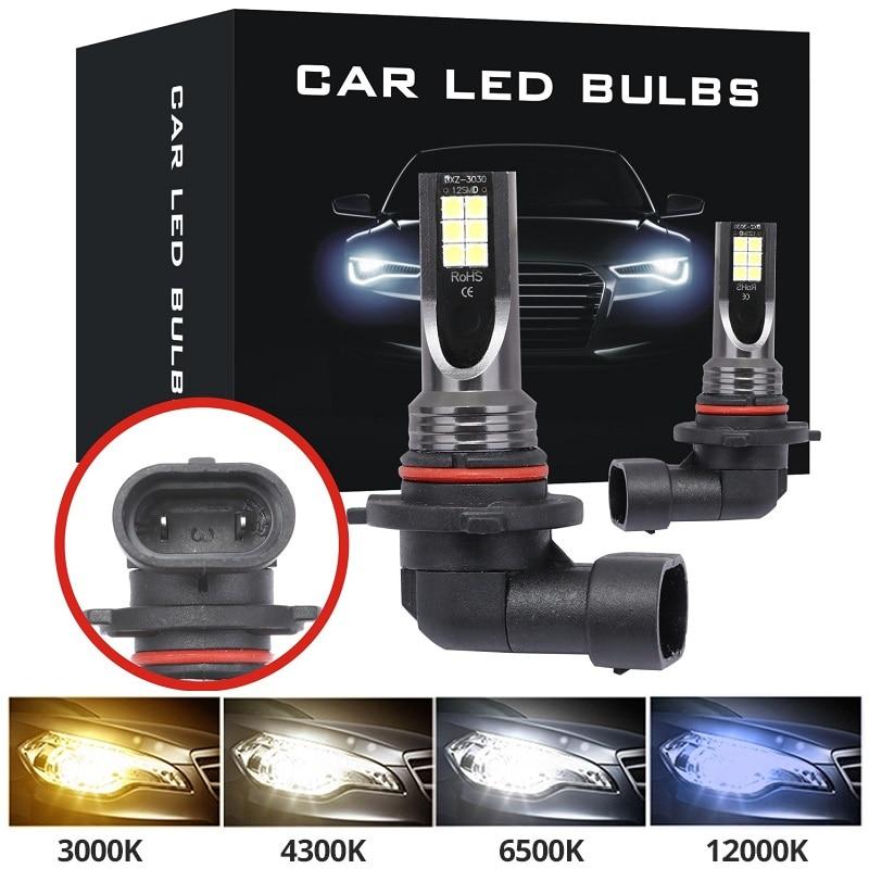 9005 HB3 светодиодный ные лампы супер яркие H7 H1 H11 H8 H9 9006 HB4 Автомобильные светодиодные противотуманные фары для указателей поворосветильник Ав...