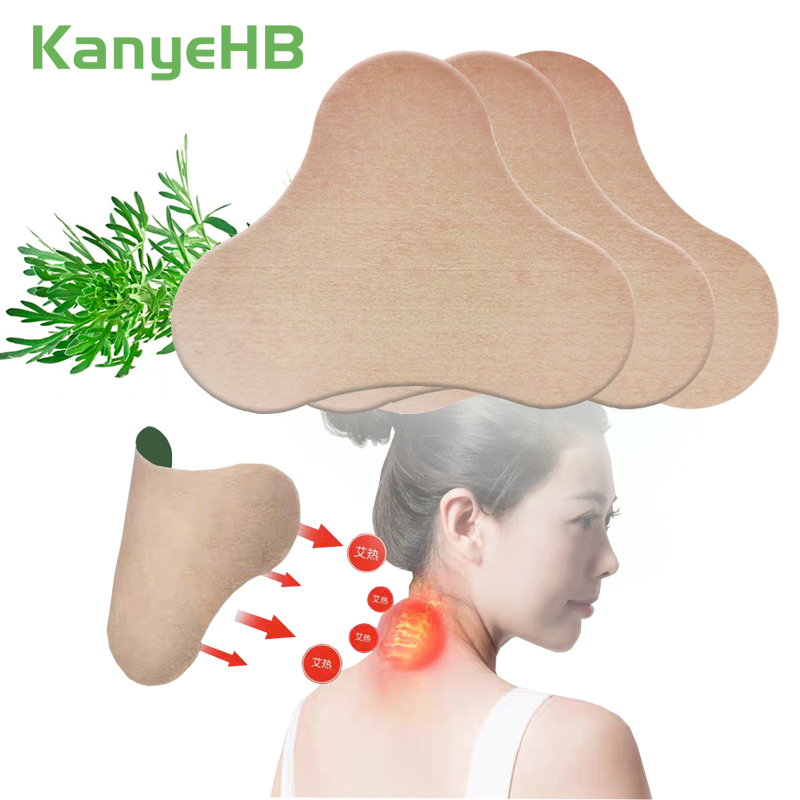 12pcs Neck Patch Joint Cervical Spondylosis Body Pain Relief Sticker Rheumatoid Arthritis Wormwood Medical Plaster A181