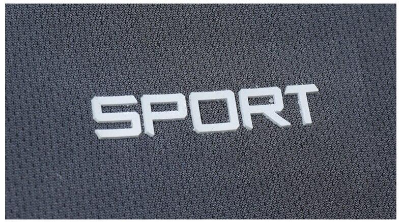 Men's Sports Summer Sportswear Run Fitness Quick Drying Sets