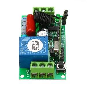 Image 5 - Беспроводной переключатель дистанционного управления AC220V, 1 канал, 10 А, 315 МГц, 433 МГц, выход, радиоприемник, модуль с водонепроницаемым передатчиком