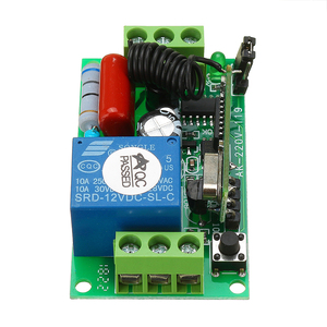 Image 5 - AC220V 1channel 10A Wireless Remote Control Switch Relay 315MHz 433MHz Output Radio Receiver Module With Waterproof Transmitter