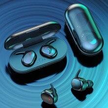 Y30 TWS Fingerprint Touch Bluetooth 5.0 Earphones Wireless Gaming Headphones 4D Stereo Hand