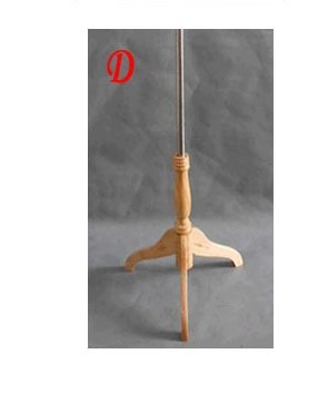 custom Wood tripod style D 8 sets