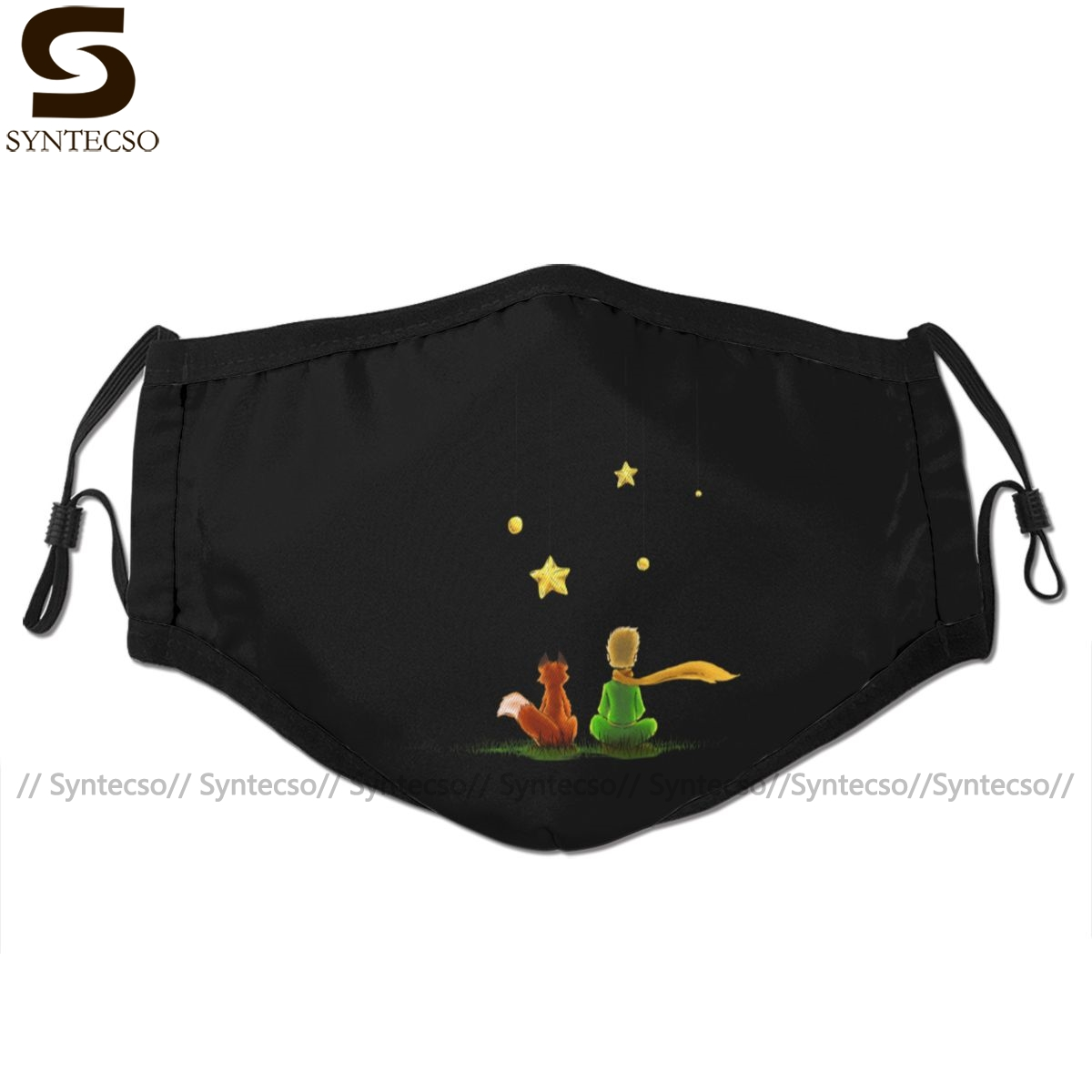 Prince Mouth Face Mask Le Petit Prince Facial Mask Kawai Funny With 2 Filters For Adult