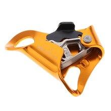 Alpinisme poitrine descendeur Ascender Riser corde pince pour 10mm-13mm