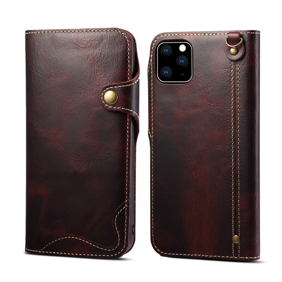 Durable Genuine Leather Wallet Case for iPhone 11/11 Pro/11 Pro Max 30