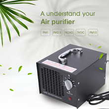 220V 55W Portable Ozone Generator Air Purifier Air Cleaner Disinfection Sterilization Oxygen Lonizer Cleaning Formaldehyde