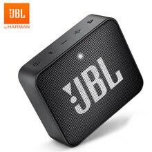 JBL GO 2 kablosuz Bluetooth hoparlör Mini IPX7 su geçirmez açık ses şarj edilebilir pil mikrofon ile