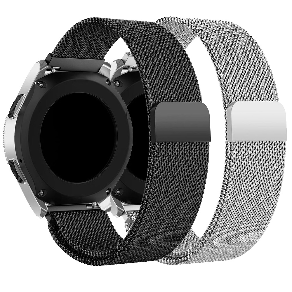 Milanese Loop Bracelet Stainless Steel Band Strap For Samsung Gear S3 S2 Galaxy Watch 46mm 42mm Huawei GT Amazfit GTR 47mm Bip