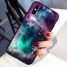 Hot Moon Space Map Soft Silicone phone cover case for iphone 5 5S SE 6 6S 7 8 plus X XR XS 11 Pro Max(China)