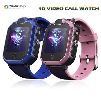 2019 New IP67 Waterproof 4G Remote Camera GPS WI-FI Child Student Smartwatch SOS Video Call Monitor Tracker Location Phone Watch