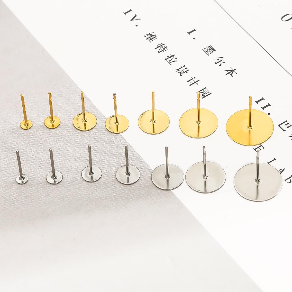 200 pcs//lot Silicone Rubber Earring Backs Stopper Earnuts Stud Earring Plugs DIY