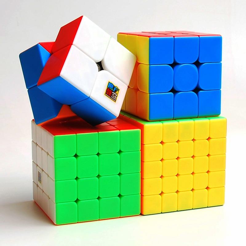 MOYU Meilong 2x2 3x3 4x4 5*5*5 6x6 7x7 8x8 9x9 10x10 11x11 12x12 Cube Megaminx Magique cubes vitesse Puzzle Cubes jouets cubo-magico