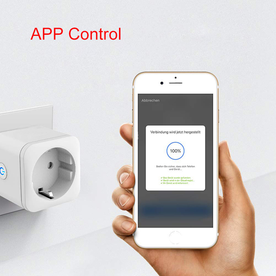 ZigBee Smart Plug EU 16A Adapter Power Monitor Timer Socket Remote Control Tuya Wireless Outlet for Alexa Google Home Assistant