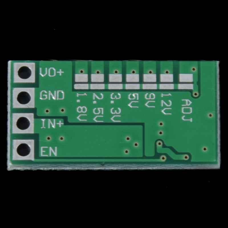 97.5/% de eficiencia ultra pequeño tamaño DCDC Buck Módulo 24V12V24V a 5V3A vehicl V9P5