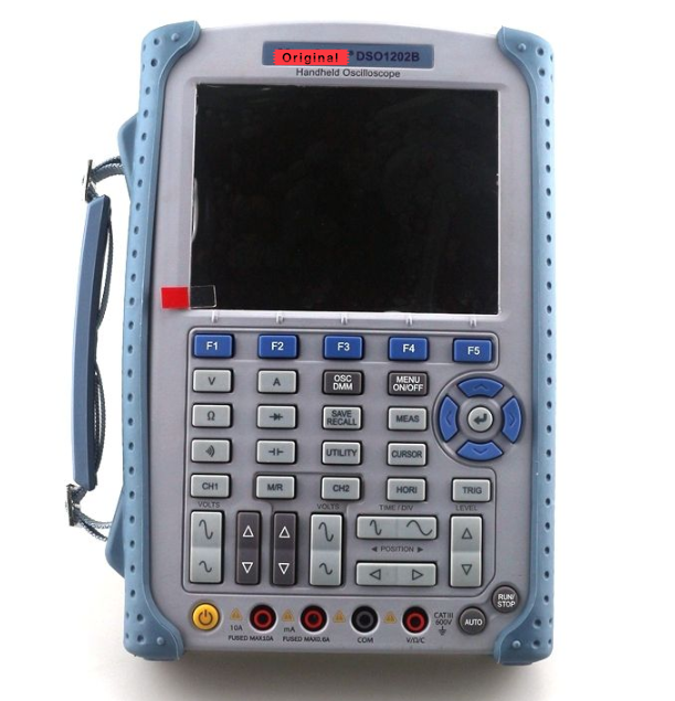<font><b>DSO1102B</b></font> Digital Handheld Oscilloscope 2 Channels 100MHz 1GS/s Sample Rate 32 Automatic Measurements Handheld Multimeter image
