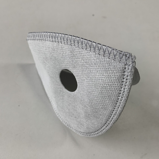5 Layers Non Woven Half Face Mask Filter for Cycling Bike Mask Anti-pollution Dust Pm 2.5 Air Filter Activated Carbon Filters 3