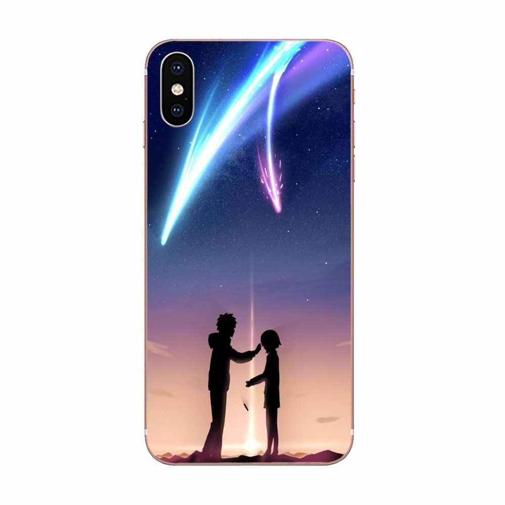 TPU Della Copertura Amore Romantico Il Tuo Nome Per il iphone di Apple X XS Max XR 4 4S 5 5C 5S SE 6 6S 7 8 Più