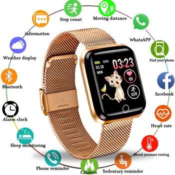 LIGE 2019 New smart sport watch Women Smart Watch Men Heart Rate Blood Pressure Monitor Fitness Tracker Pedometer bracelet
