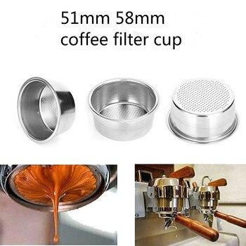 Filtro Krups Breville Delonghi de 51mm, 58mm, taza de filtro no comprimido, cesta de filtro, productos de café, accesorios de cocina