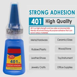1PCS 401 Instant Fast Adhesive 30ML Bottle Stronger Super Glue Multifunction Fix HOT Super Strong Liquid Colorless Glue TSLM1